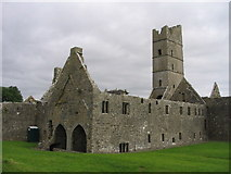 G2328 : Moyne Friary by Francoise Poncelet