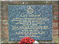 TG1527 : Memorial To RAF Oulton Street by Keith Evans