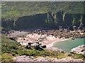 SW4237 : Porthmeor Cove by Tony Atkin