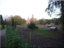 SZ5692 : Quarr Abbey and Farm. by Stephen D Bennett