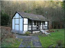 SJ1966 : Cottage  in Nant Alyn by Peter Craine