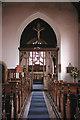 TG3315 : St Fabian & St Sebastian, Woodbastwick, Norfolk - East end by John Salmon