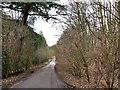 SP9031 : Sawpit Lane by Rob Farrow