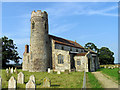 TG1633 : St Andrew, Wickmere, Norfolk by John Salmon