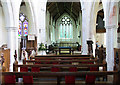 TG2129 : St Botolph, Banningham, Norfolk - East end by John Salmon
