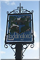 TQ6948 : Laddingford village sign by Oast House Archive