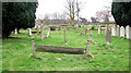 TL1344 : St Leonard, Old Warden, Beds - Churchyard by John Salmon