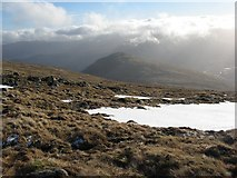 NN2145 : Southern slopes of Stob Ghabhar by Richard Webb