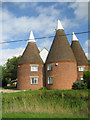 TQ7248 : The Roundels, East Street, Hunton, Kent by Oast House Archive