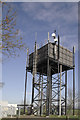 TL2953 : Water Tower, Longstowe, Cambridgeshire by Martin John Bishop