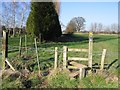 SJ4859 : Stile on the Footpath to Brook Hall by John S Turner