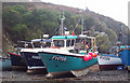 SW7214 : Fishing boats on the beach at Cadgwith by Maigheach-gheal
