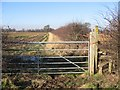SJ4957 : Footpath from Dark Lane to Burwardsley Road by John S Turner