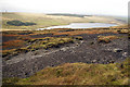 SD9722 : Withens Moor and Withen Clough Reservoir by Phil Champion