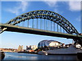 NZ2563 : Newcastle Skyline by Matthew Wragg