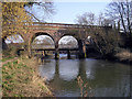 TQ1656 : Railway bridge at Leatherhead by james ferguson