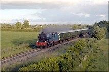 J1092 : Steam Train approaching Peter's Bridge by Wilson Adams