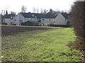 TL3544 : Nurses' houses behind Kneesworth House Hospital by Alan Kent