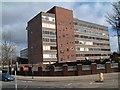 SJ8745 : Flaxman Building, Stoke by Steven Birks