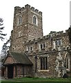 TL0234 : SS Peter & Paul, Flitwick - Tower & Porch by Rob Farrow