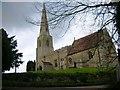 TL0875 : All Saints Church, Brington by Will Lovell