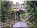 SW7551 : Railway Bridge by Tony Atkin