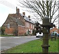 SP6831 : Old pump, Gawcott by Rob Farrow