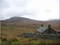 SH7942 : Ffermdy Cefn Garw Farmhouse by David Goddard