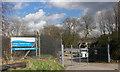 SE8722 : Alkborough Sewage Treatment Plant by David Wright