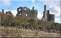 SS9281 : Coity Castle by kenneth rees