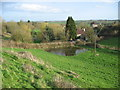 ST7156 : Flooded meadow at Shoscombe by Phil Williams
