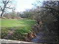 SO3813 : River Trothy from Llwyn-deri Bridge by Ruth Sharville
