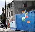 SX4754 : Derelict Building, Bath Place, Plymouth by Tom Jolliffe