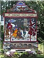 SK4129 : Well dressing at Aston-on-Trent by Jerry Evans