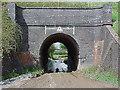 SU0180 : Railway bridge arch in Bowd's Lane near Lyneham by Tony Wheeler