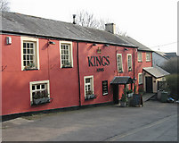 ST1081 : Kings Arms, Pentyrch. by Peter Wasp
