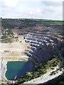 SX0783 : Delabole Slate Quarry by Lynda Poulter