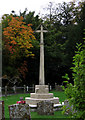 SP6412 : War Memorial, St Mary's Oakley by Christina Burford