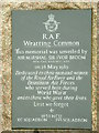 TL6350 : R.A.F. Wratting Common Memorial by Keith Evans