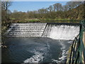 SD7913 : River Irwell and Burrs Weir by Paul Anderson