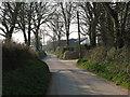 SM9629 : Country lane at Ffynnon Bedr by Gordon Hatton