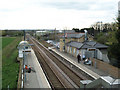 TL3745 : Meldreth station from the footbridge looking south-west by Keith Edkins