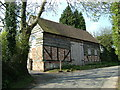 SP1693 : Barn, Wiggins Hill Road, Sutton Coldfield by Mike Beeson