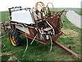 SN0335 : Old  farm machinery by ceridwen