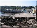SX4350 : Kingsand Beach at Low Tide, Cawsand by Brian