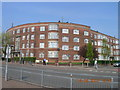 TQ2288 : Quadrant Close at the Junction of Watford Way and Prothero Gardens, London NW4 by Robin Sones