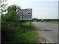 TL0357 : Road near Thurleigh by Les Harvey