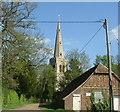 TL1058 : Colmworth church by Les Harvey