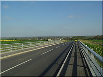 TL1152 : Looking southeast from bridge over Barford bypass by Les Harvey