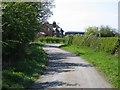 SJ4455 : Rose Cottage on Highfield Lane by John S Turner